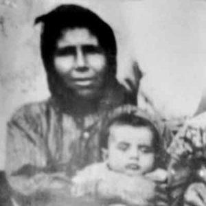 Арсений Эзнепидис в младенчестве
