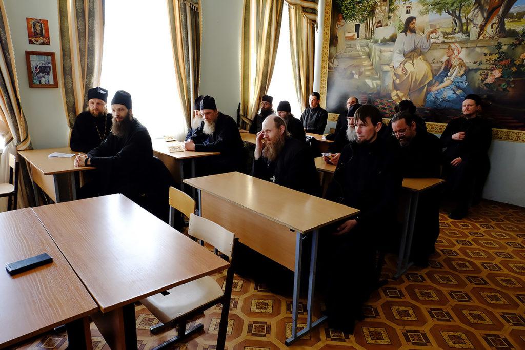 Братия Иоанно-Предтеченского монастыря Астрахани